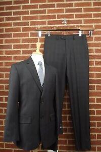 NEW Kenneth Cole Mens Sport Coat 40L 40 Long Blazer 2 Button Jacket Suit Pants