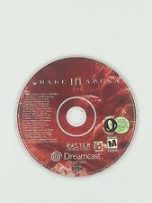 Quake 3 Arena Sega Dreamcast Game Authentic Original Cleaned Tested