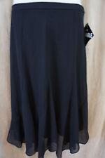 R & M Richards Petite Skirt Sz 12P Black Business Evening Cocktail Skirt