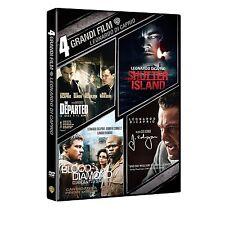 LEONARDO DI CAPRIO - 4 GRANDI FILM  4 DVD  COFANETTO BOX Sigillato