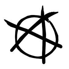 Anarchy Symbol Vinyl Sticker Decal Punk Flag - Choose Size & Color