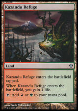 MTG 2x KAZANDU REFUGE - RIFUGIO DI KAZANDU - ZEN - MAGIC