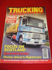 TRUCKING INTERNATIONAL - FOCUS ON SCOTLAND - Nov 1992