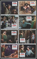 EL DORADO 11x14's  JOHN WAYNE/ROBERT MITCHUM original 1966 lobby card set