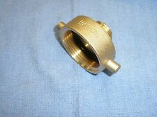 "Fire Hydrant Adapter 1-1/2"" NST Female by 3/4"" Male GHT Brass Dixon HA1576"