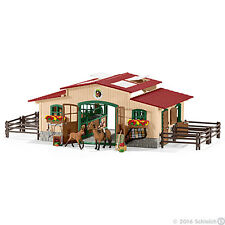 Schleich Schleich Farm World Stable with Horses and Accessories
