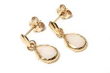 9ct Gold Opal Teardrop Earrings Gift Boxed Made in UK