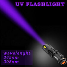 Ultraviolet Light Powerful Flashlight Torch 3 Mode Tactical Adjustable