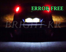 FORD FIESTA MK6 ZETEC ST XENON WHITE NUMBER PLATE LED LIGHT BULBS -ERROR FREE