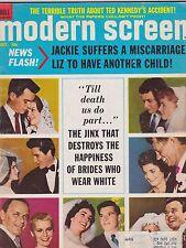 OCT 1969 MODERN SCREEN vintage movie magazine ---  HOLLYWOOD WEDDINGS