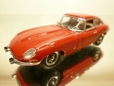 KYOSHO JAGUAR E-TYPE COUPE RHD - RED 1:43 - VERY GOOD CONDITION