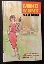 2014 MIND MGMT v.3 The Home Maker by Matt Kindt HC NM 9.4 1st Dark Horse