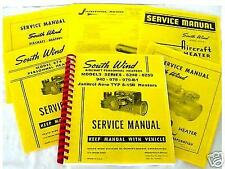 SOUTHWIND AIRCRAFT HEATERS SERVICE MANUALS  -14