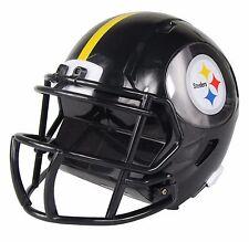 "NFL Football ABS Mini 8"" Helmet Coin Piggy Bank New Pittsburgh Steelers"
