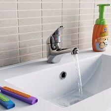 MODERN MONOBLOCK CHROME BATHROOM BASIN SINK BATH MIXER TAP (A9-D)