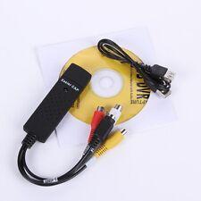 USB 2.0 Audio / Video Grabber Capture Aufnahme + Software NEU WINDOWS 7 8 10