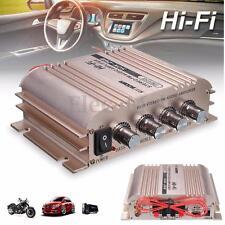 500W 12V Mini HiFi Stereo Audio FM Amplifier Car Home Bass MP3 Radio Player USB