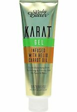 New Body Butter Karat Sunbed Dark Tanning Butter Gel Helio Carrot Oil + Goggles