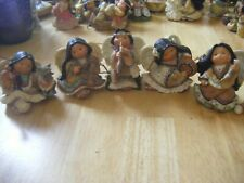 Lot Of Enesco 1999 Friends Of The Feather Angel Collection