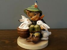 New ListingGoebel Hummel Playmates Boy With Bunnies 58/0 Complimentary For Easter Time