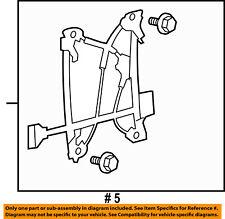 FORD OEM 10-14 F-150 Rear Door-Window Regulator BL3Z1627001A