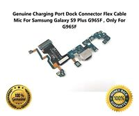 For Samsung Galaxy S9 Plus S9+ G965F Charging Port Dock Connector Flex Cable Mic