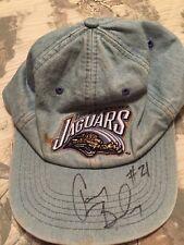 Aaron Beasley 1996-2001 Signed Jacksonville Jaguars Cap