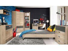 Jugendzimmer Yoop 7tlg. Kinderzimmer Möbel Set Eckkleiderschrank Bett 109875