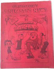 Fleischer's Animated News Vol 2 No #1 Animated New Dec 1935