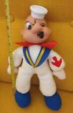 Vintage Popeye the sailor man plush doll