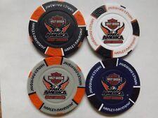 Harley Davidson 115th Anniversary Mid America HD Poker Chip