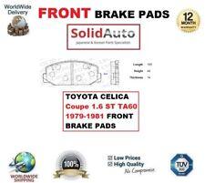 PARA TOYOTA CELICA Coupe 1.6 ST TA60 79-81 PASTILLAS DE FRENO FRONTALES OE