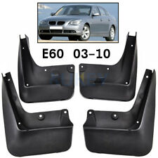 Set Molded OEM Fitment Mudflaps For BMW 5 Series E60 04-10 Mud Flap Splash Guard