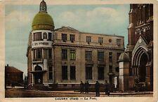 CPA  CAUDRY (Nord ) .- La poste  (190615)