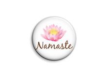 Sports - yoga namaste-1 - Badge 25mm Button Pin