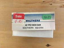 WALTHERS 40' PS1 BOX CAR SOUTHERN 932-3704