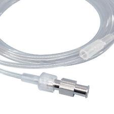 End Tidal CO2 (EtCO2) Female Luer Lock Adapter for Male Sampling Line, Reusable