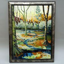 Nigel Morgan ~ Craig Y Nos Woods ~ Oil Painting ~ Brecon Beacons / Welsh Art