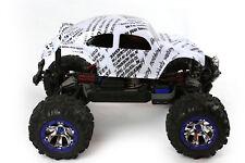 Custom Body Funny Sayings Green for Traxxas Summit 1/10 Volkswagen Baja Beetle