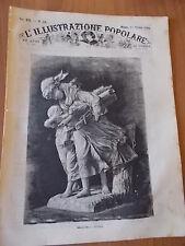 L'ILLUSTRAZIONE POPOLARE 42/1882 Pellegrini spagnoli a Roma, Terremoto Panama