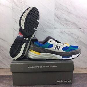 New Balance M992RR Tan Green Grey M992RR Shoes Men's Size 13 *