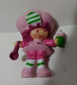 "Vintage Strawberry Shortcake 2"" Pvc Figure Named Raspberry Tart With Ice Cream"