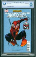 Spider-Man With Great Power #1 (2011) CBCS Graded 9.8 ~ Double Cover ~ Not CGC