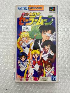 "Bishoujo Senshi Sailor Moon ""Good Condition"" Nintendo Super Famicom Japan"