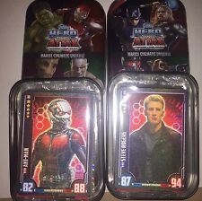 Marvel Hero Attax -2 Tins With Ant Man And Captain America