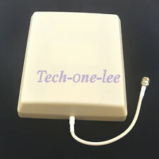 8dBi Indoor Antenna Wall Panel N Female GSM /3G/UMTS Booster Extension Coax