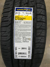 1 New 245 45 18 Goodyear Eagle F1 Asymmetric All-Season Tire