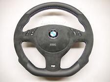 BMW complete Alcantara steering wheel E46 E38 E39 E53 M3 M5 TriColor M stitching
