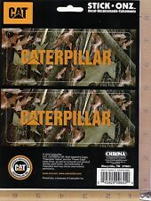 New Caterpillar Camo Decal Sticker Car, Truck, SUV or CAT equipment Window 9655