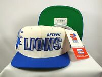 DETROIT LIONS NFL HAT CAP  90'S SNAPBACK SHADOW STITCH SPORTS SPECIALTIES RARE